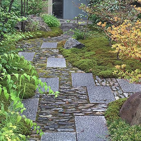 庭づくり 石工事