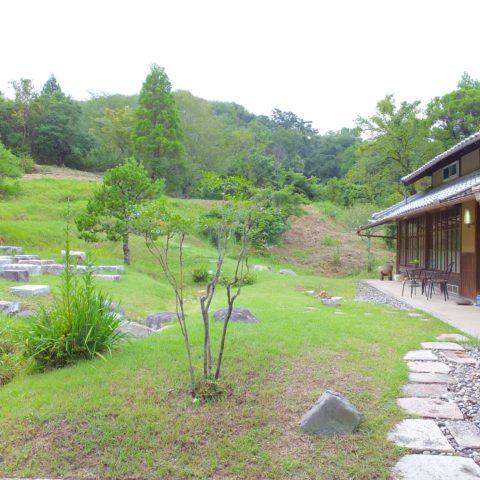 甲賀市の庭