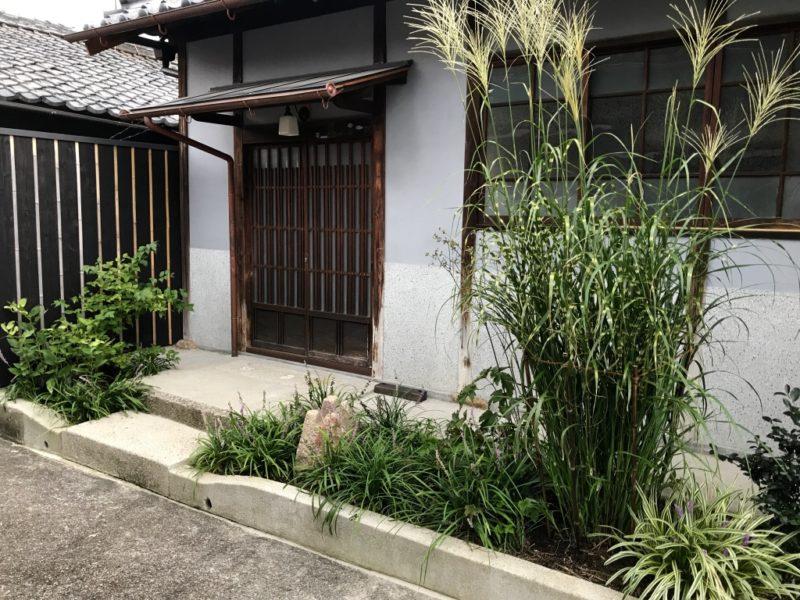 土屋作庭所の作庭例 奈良市 貸町家 木屋