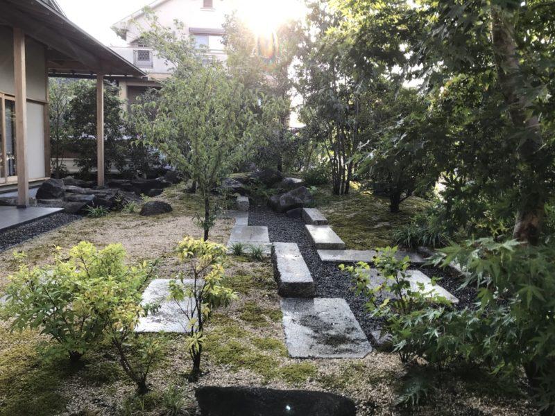 土屋作庭所の作庭例 精華町の庭