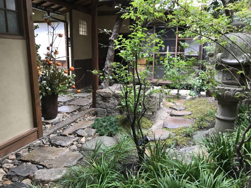 土屋作庭所の作庭例 西村邸