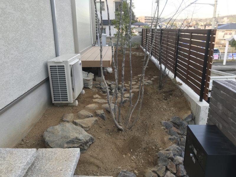 土屋作庭所の作庭例 生駒市N邸