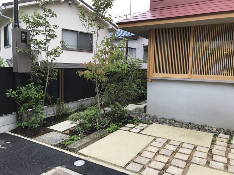 土屋作庭所の作庭例 大阪市O邸